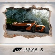 Decorative vinyl 3D Forza Motorsport 5