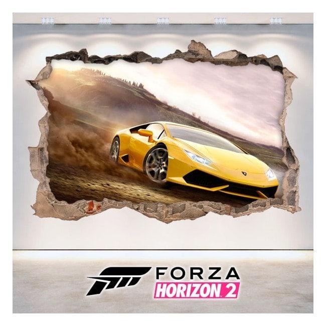 Decorative vinyl 3D Forza 2 Horizon