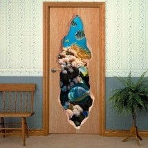 Doors Sea World 3D for vinyls