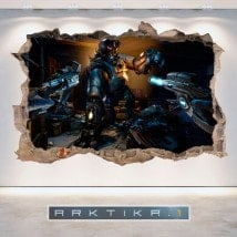 Decorative vinyl 3D Arktika 1