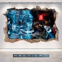 Vinyl and stickers 3D Arktika 1
