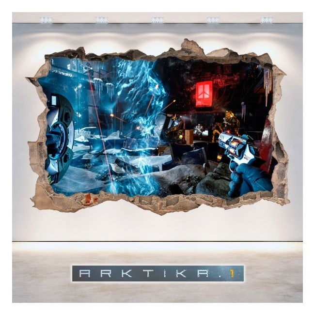 Vinyl and stickers 3D Arktika 1
