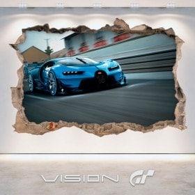 Vinyl Bugatti 3D Vision great tourism