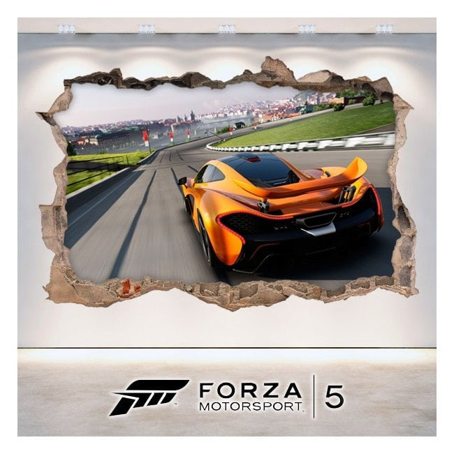Vinyl and stickers 3D Forza Motorsport 5