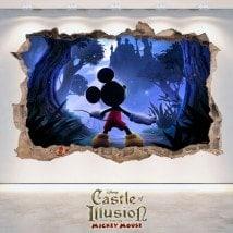 Children's vinyl 3D Castle Of Illusion