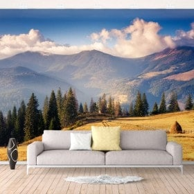Photo wall murals mountains and nature
