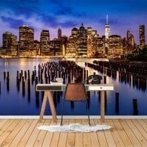 New York City photo wall murals