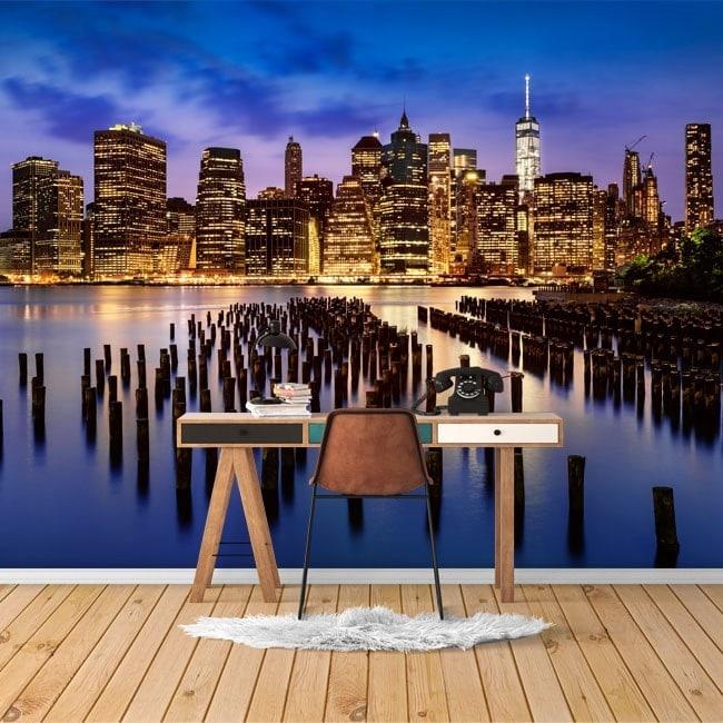 New York City photo wall murals