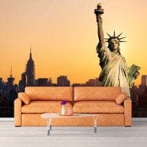 Photo wall murals statue of liberty New York