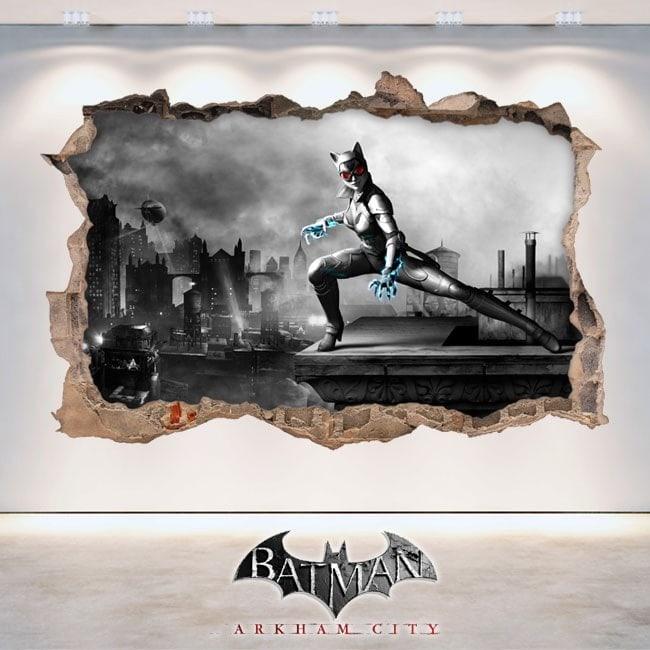 Vinyl and stickers 3D Batman Arkham City