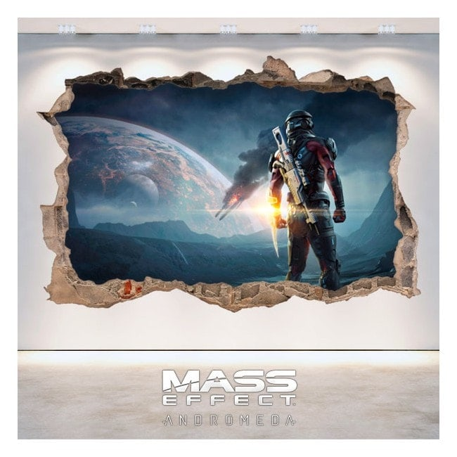 Decorative vinyl 3D Mass Effect Andromeda