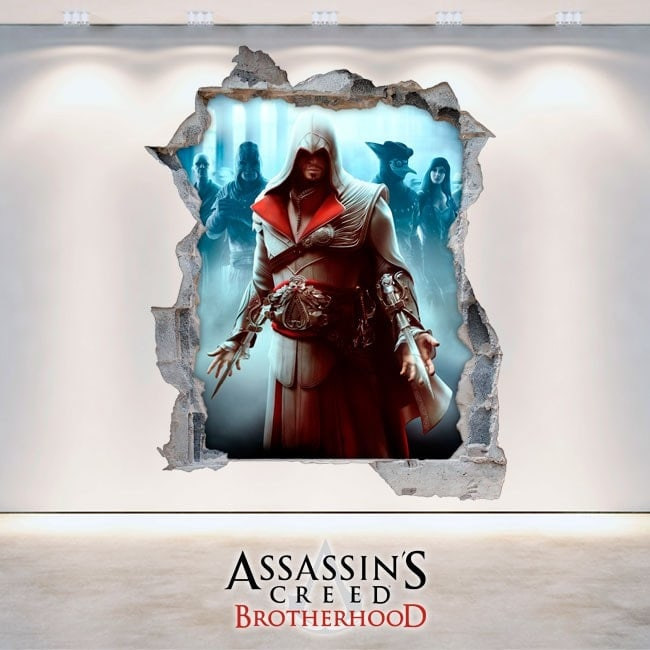 Stickers and Vynils 3D Assassin's creed: Brotherhood