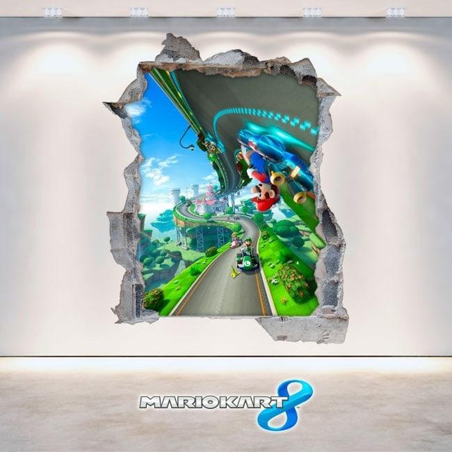 Vinyl 3D Mario Kart video games 8