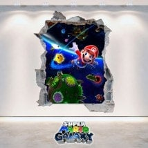 Vinyl video game 3D Super Mario Galaxy