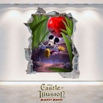 Children's stickers and vynils Castle Of Illusion 3D