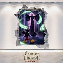 Decorative vinyl children's Castle Of Illusion 3D