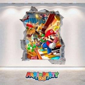 Vinyl video game 3D Mario Party DS