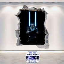 Decorative vinyl Star Wars The Force Unleashed 2