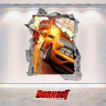 Vinyl videogames Burnout Revenge 3D