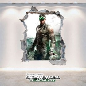 Decorative vinyl 3D Tom Clancy's Splinter Cell Blacklist
