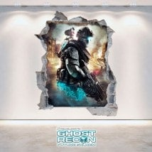 Decorative vinyl 3D Tom Clancy's Ghost Recon Future Soldier