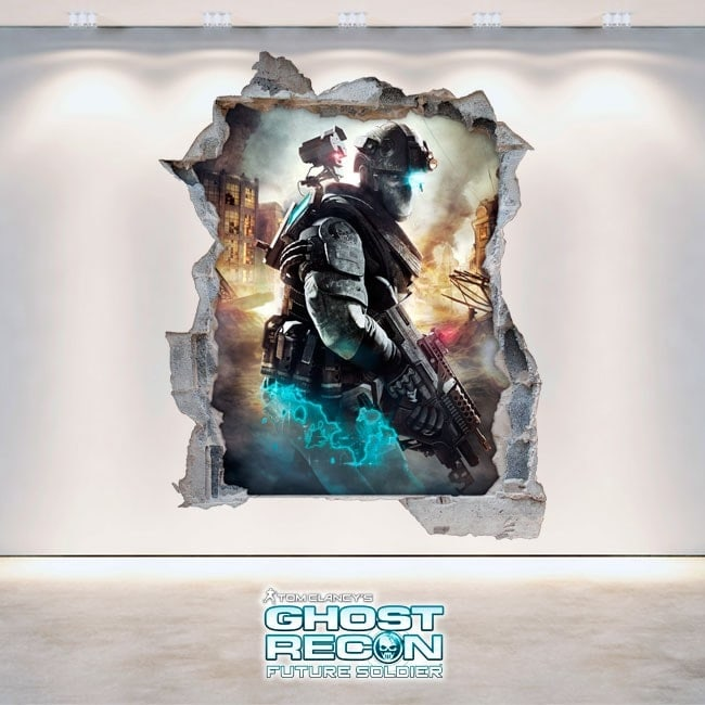 Decorative vinyl 3D Tom Clancy's Ghost Recon Future Soldier