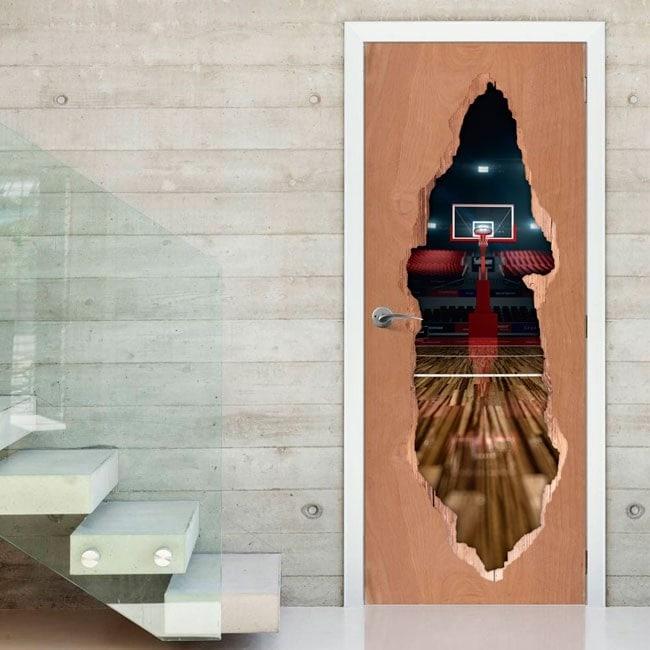 Vinyl for Gates basketball court 3D