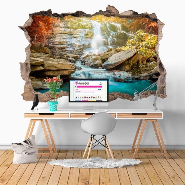 Vinyl decorative waterfalls 3D