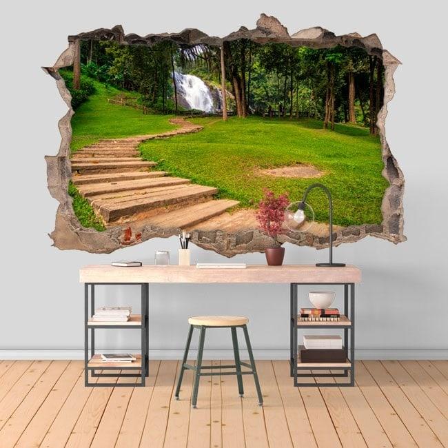 Decorative waterfalls Vachiratarn 3D