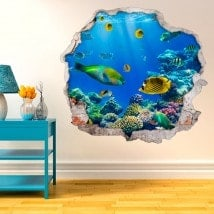 Fish in the Sea 3D decorative vinyl