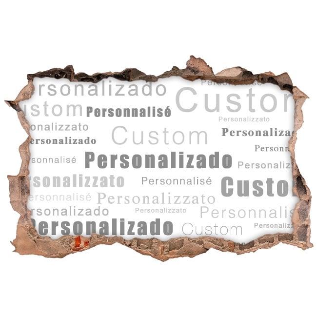 Custom 3D Decorative Vinyls