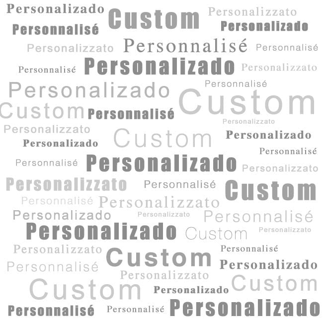 Custom 3D windows