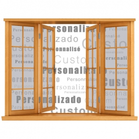3D custom Vinyl Windows