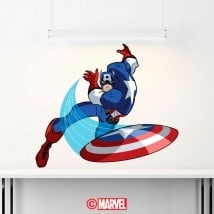 Vinyl Captain America