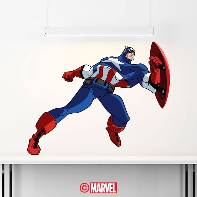 Stickers and vinyl Captain America