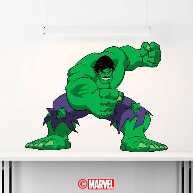 Adhesive vinyl Hulk