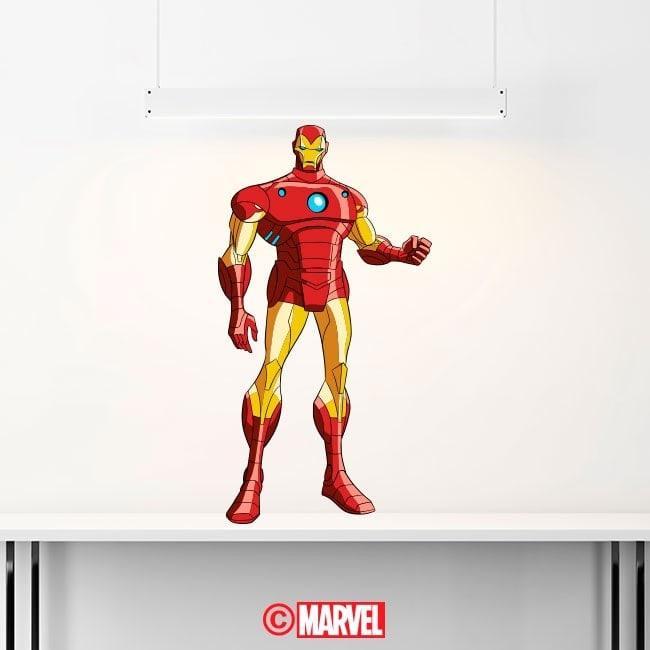 Vinyl decorative Iron Man