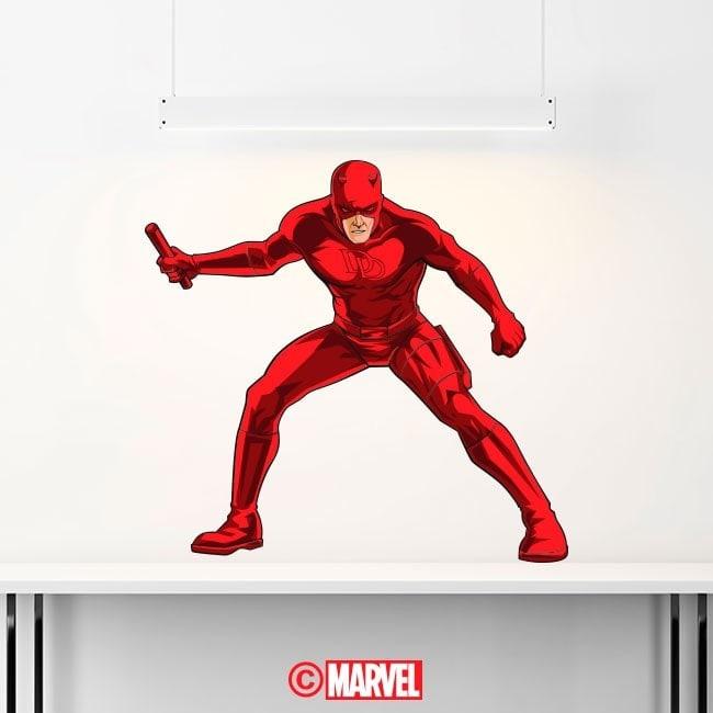 Adhesive vinyl Daredevil