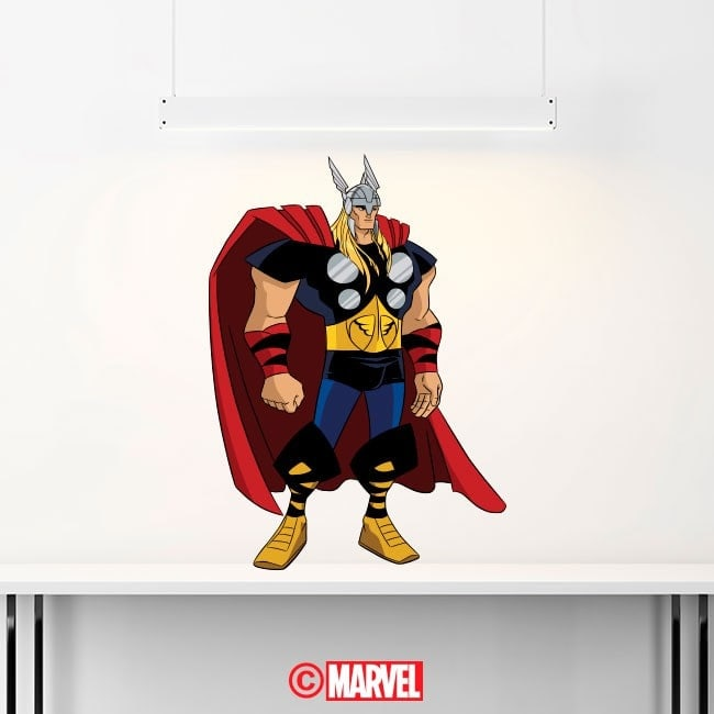 Luminescent panels dividing fluowall Thor