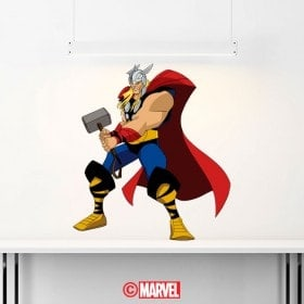 Stickers and vinyl Marvel Thor