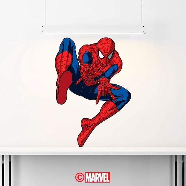 Spiderman vinyl stickers