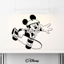 Adhesive vinyl Mickey Mouse