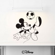 Vinyl Mickey Mouse soccer
