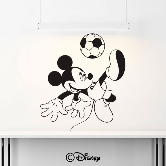 Vinyl Mickey Mouse soccer