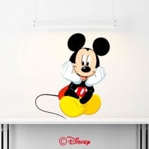 Decorative vinyl Mickey Mouse