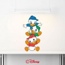 Nephews Donald Duck decorative vinyl