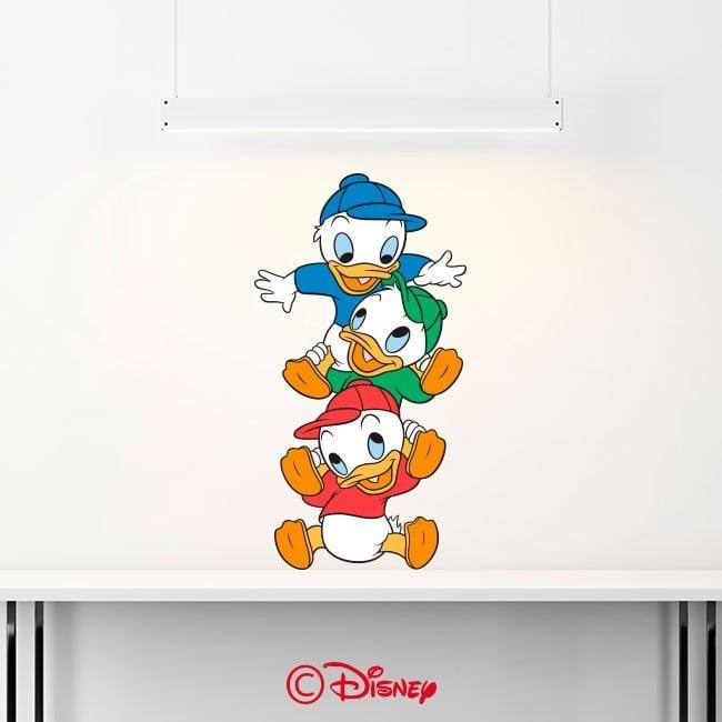 Nephews Donald Duck decorative vinyl