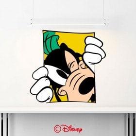 Vinyl walls Goofy Disney