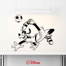 Luminescent panels dividing fluowall Goofy soccer