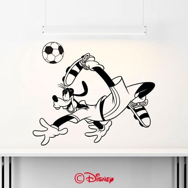 Luminescent panels dividing fluowall Goofy soccer